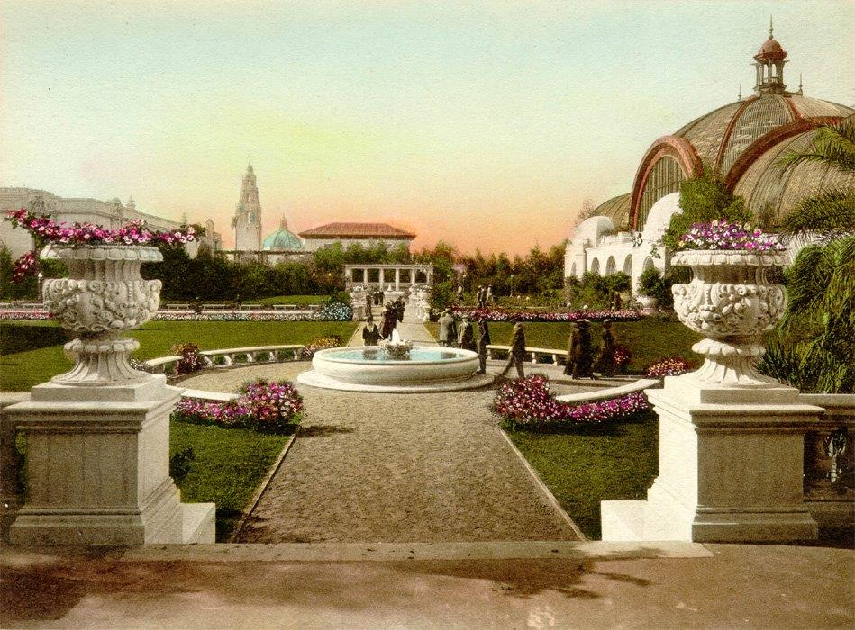 colorized post card