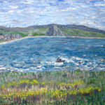 View from Cayucos  ~   Anne Edwards, La Verne, CA  2005  •  20 x 16
