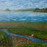 Morro Bay Landscape  ~   Francesca Droll & John Webster, Bigfort, MT  2005 • 30 x 24