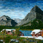 Many Glacier Lodge  ~   Private collection, Bigfork, MT 2006 • 16 x 20