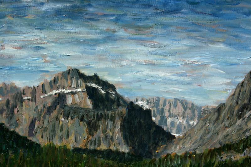 Many Glacier Lodge (detail)