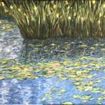 Giverny Water Lilies (1 of 2)  ~  2019  •  48 x 36