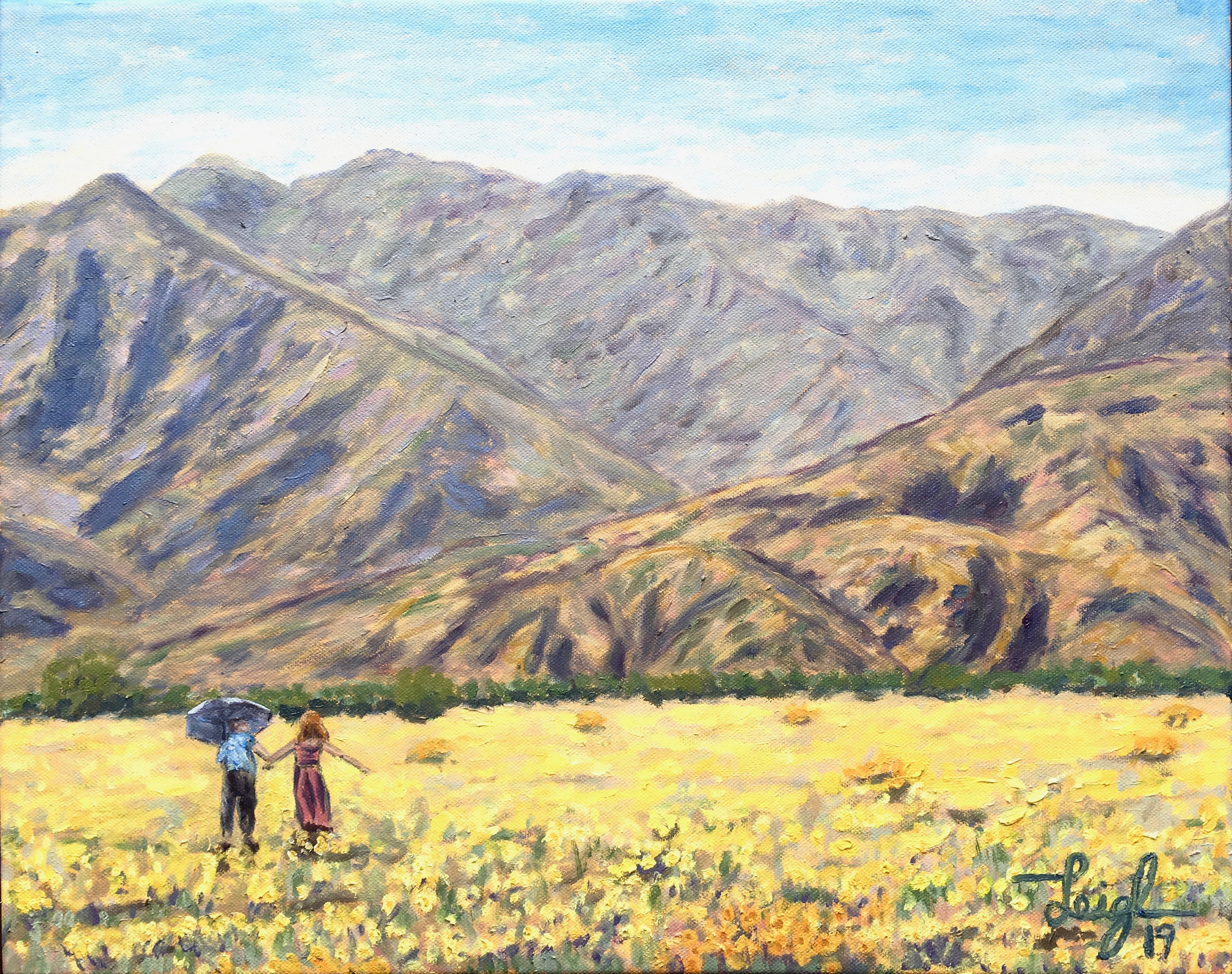 Anza Super Bloom #3 (The Couple) 2019  •  20 x 16