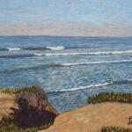 Surfs Up at Terramar #1 Tomás Herrera-Mishler, San Diego, CA 2019  •  30 x 24