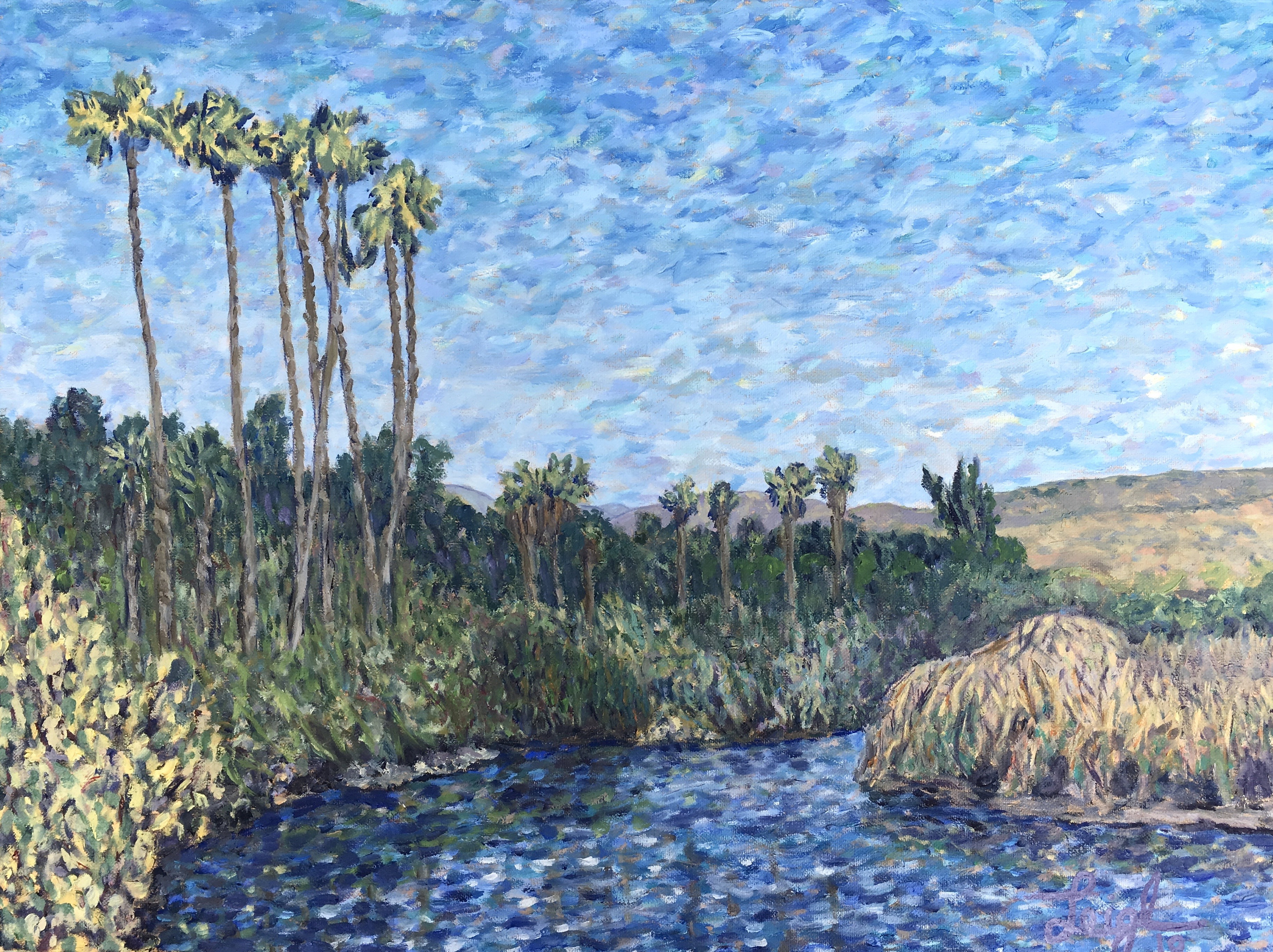 Hendry's Arroyo Burro, Santa Barbara  ~  Chris & Shery Walker, Santa Clarita, CA  2019  •  24 x 18