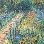 Giverny Flower Garden  ~  Art & Beatriz Jacobson, Murietta, CA  36 x 18  •  2019