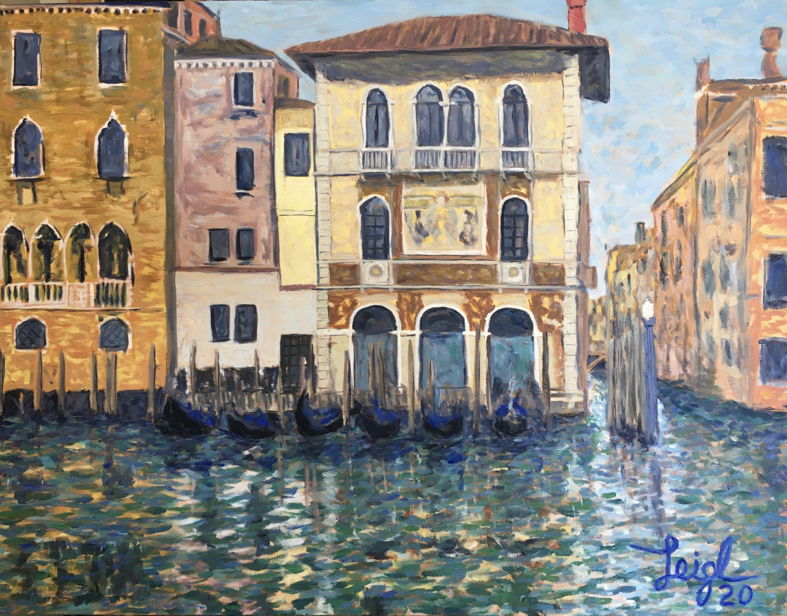 Venice Homes (#1)  2020  •  28 x 22