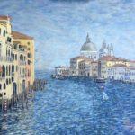 Grand Canal with Santa Maria della Salute (V06)  2020  •  28 x 22