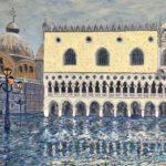 The Doge's Palace Flooded (V07)  2020  •  28 x 22