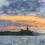 San Michele Sunset (#16)  2020  •  28 x 22