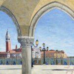 Arches Framing San Giorgio Maggiore (#18)  2020  •  28 x 22