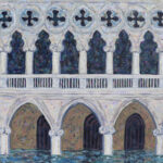 The Doge's Palace Flooded 2/6  28 x 22  •  2020